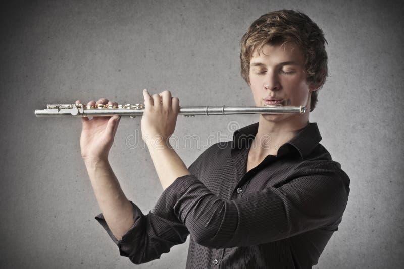Bawić się klarnet zdjęcie royalty free