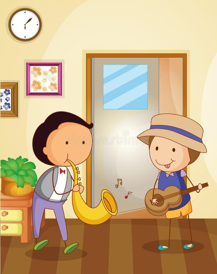 Bawić się muzykę ilustracji