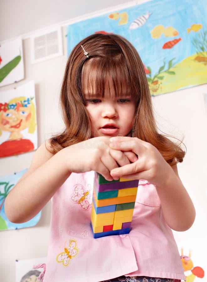 bawić się set dziecko budowa obraz stock