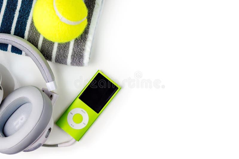 Bawić się tenisa, sport ćwiczy, czas wolny aktywność obraz royalty free