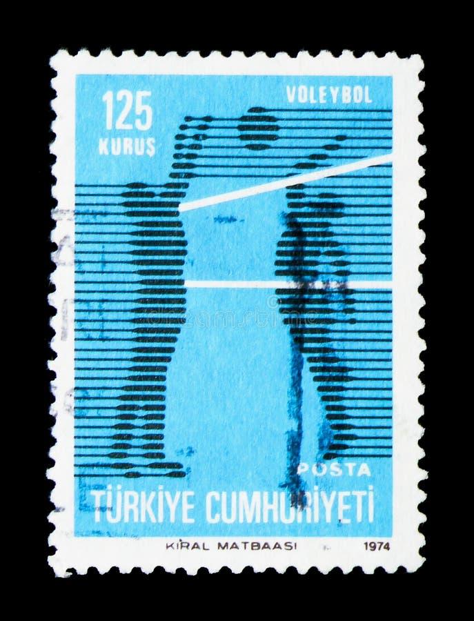 Bawi się na temat sporta seria około 1974, stały bywalec zagadnienie, ilustracja wektor