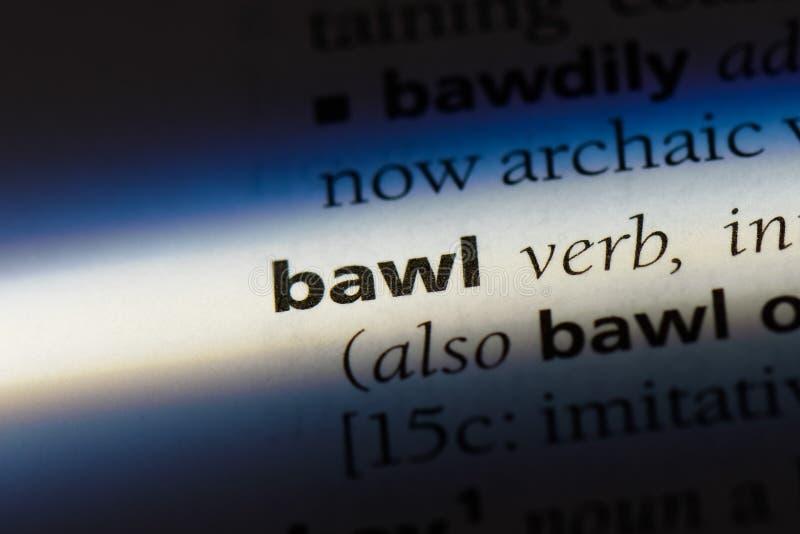 bawl stock afbeelding