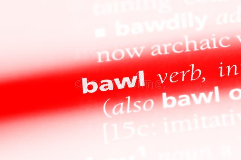 bawl royalty-vrije stock fotografie