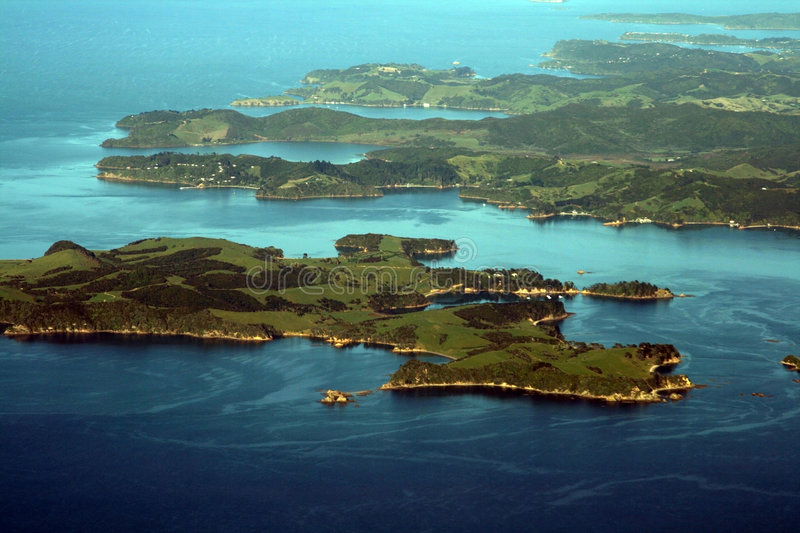 Bay of Auckland royalty free stock image