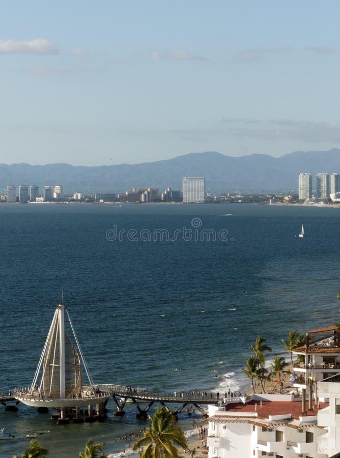 Bay of Banderas, Puerto Vallarta, Mexico royalty free stock photos