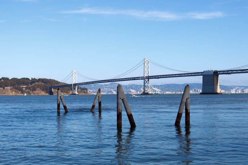 Download Bay Bridge stock image. Image of pilings, blue, nature - 17847075