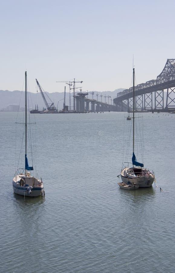 Free Bay Bridge Construction 1 Royalty Free Stock Photo - 473715