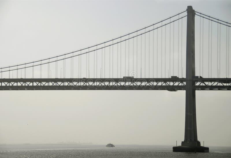 Download Bay Bridge at Dawn stock photo. Image of silhouette, decks - 2503724