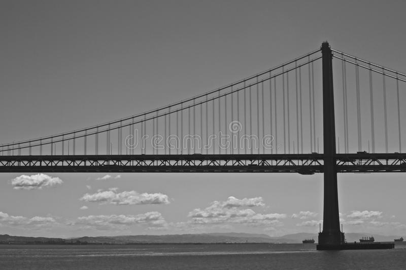 bay bridge francisco san στοκ εικόνα με δικαίωμα ελεύθερης χρήσης