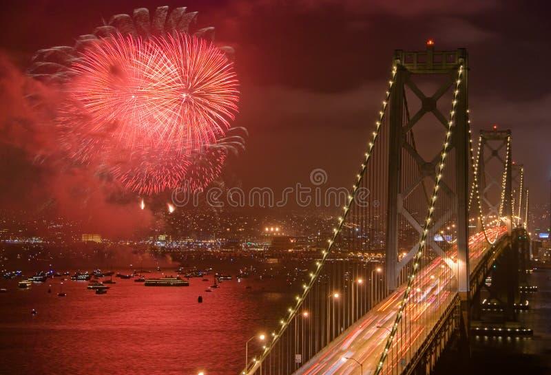 Bay Bridge, San Francisco royalty free stock images