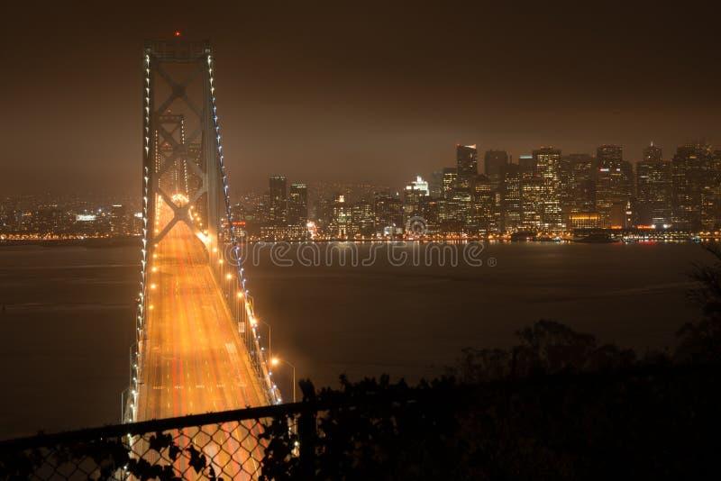Bay Bridge in San Francisco stock photo