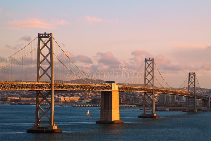 Download Bay Bridge at Sunset stock photo. Image of water, city - 15115114