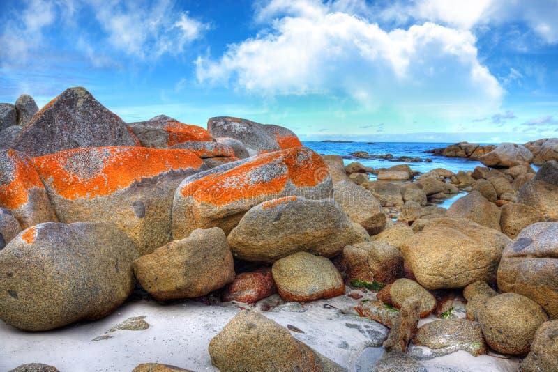 Bay of Fires, Tasmania stock photography