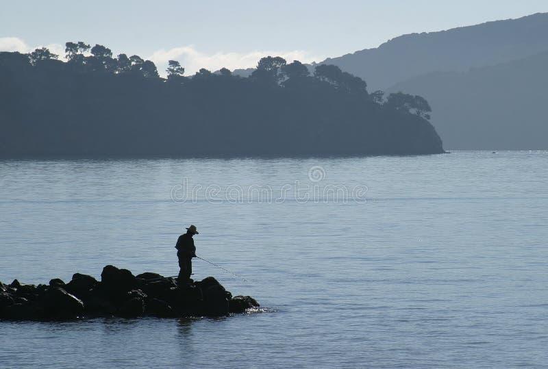 Bay Fishing stock photos