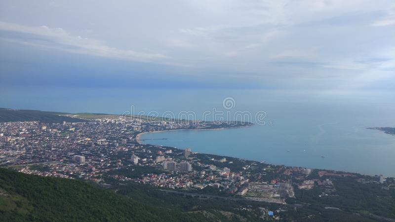 Bay Gelendzhik stock photo