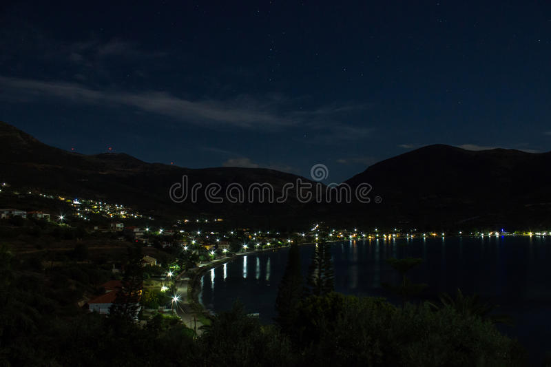 Bay in Greece royalty free stock image