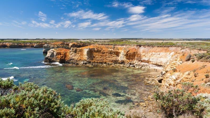 Bay of Islands Australia. Bay of Islands near Peterborugh Great Ocean Road Victoria Australia royalty free stock image