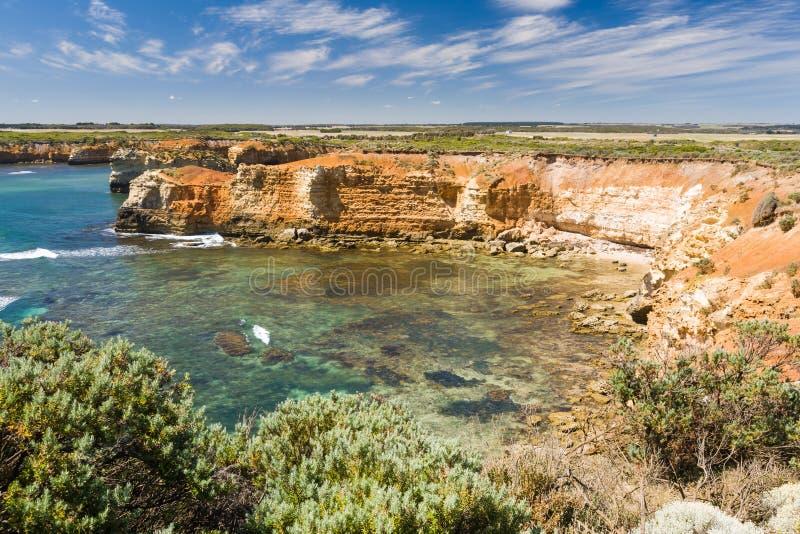 Bay of Islands Australia. Bay of Islands near Peterborugh Great Ocean Road Victoria Australia royalty free stock photo