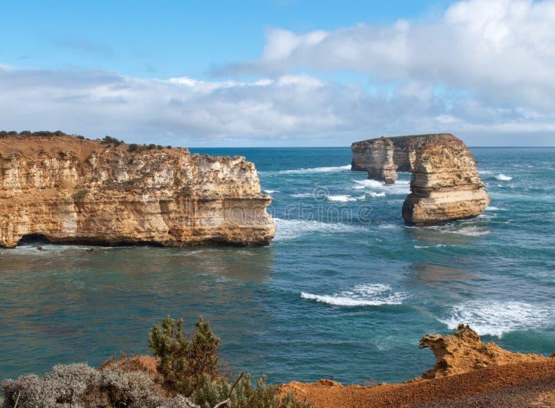 Bay of Islands Coastal Park royalty free stock photo