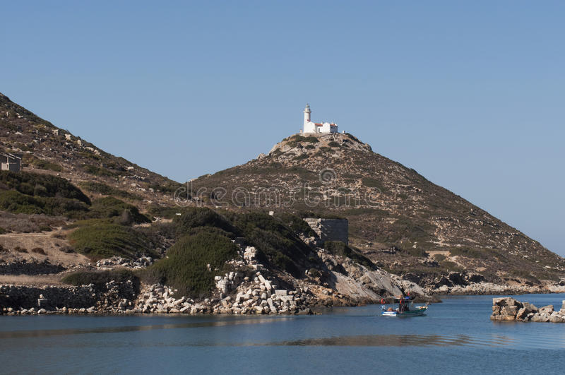 Download Bay of Knidos stock image. Image of castle, nature, city - 27219733