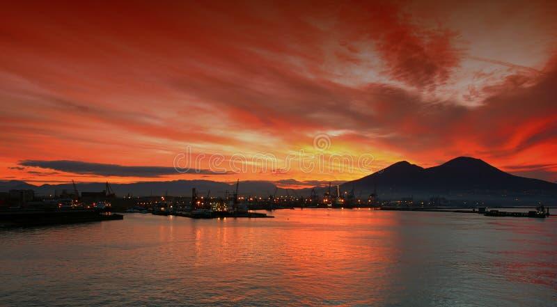 Bay of Naples stock photos