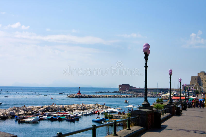 Download Bay of Naples,  sea-front stock photo. Image of naples - 18424556