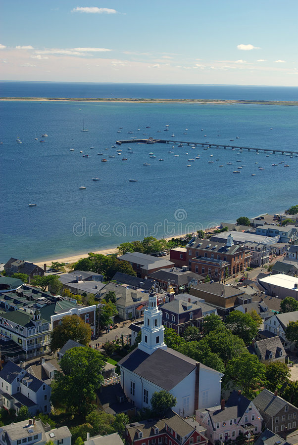 bay provincetown obrazy royalty free