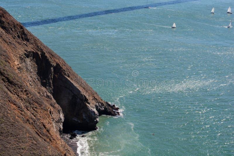 Bay& x27; s视图,旧金山 库存图片