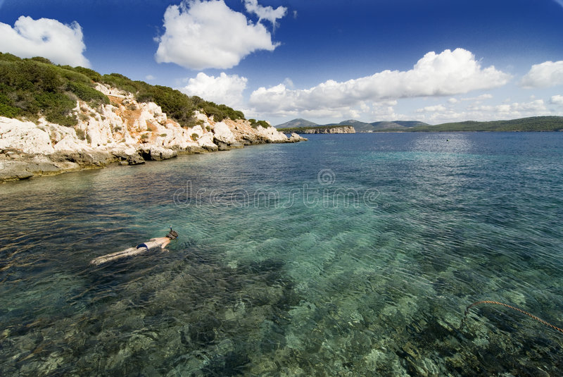 Download Bay in Sardinia stock image. Image of caccia, float, sardegna - 3334615