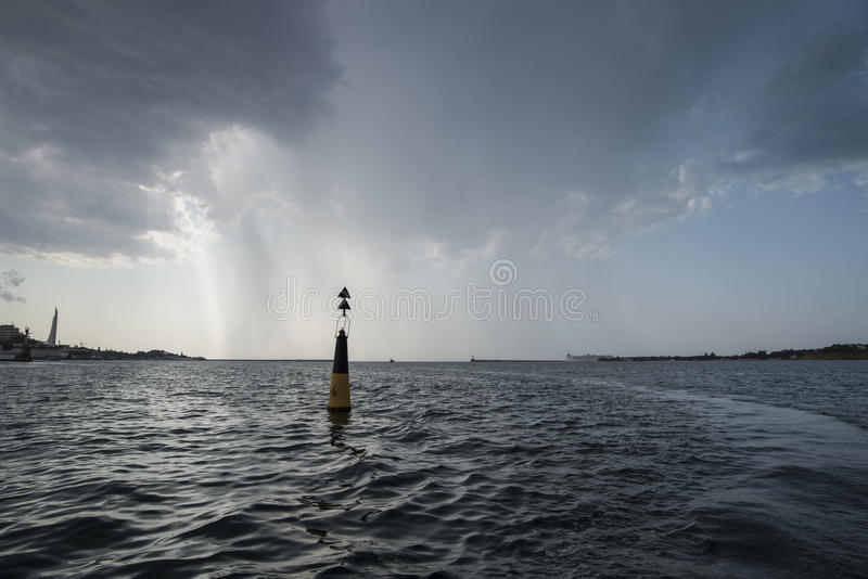 Download Bay Of Sevastopol At The Storm Stock Image - Image: 33267815