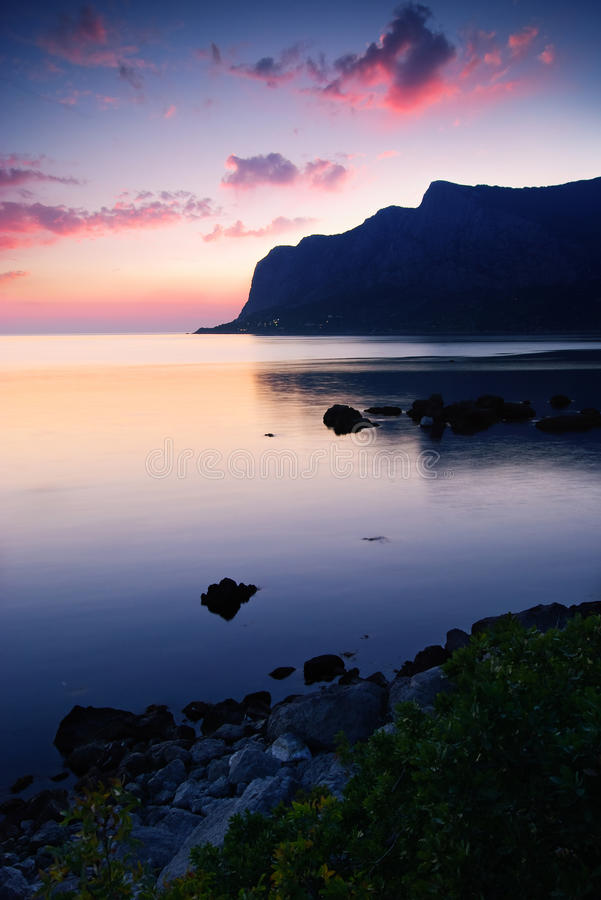 Download Bay After The Sunset Royalty Free Stock Image - Image: 12781466