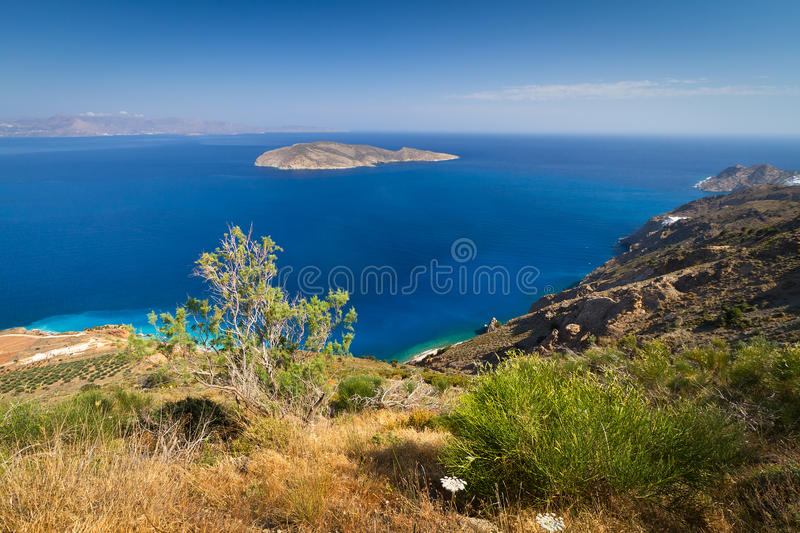 Download Bay View With Blue Lagoon On Crete Stock Photo - Image: 26658484