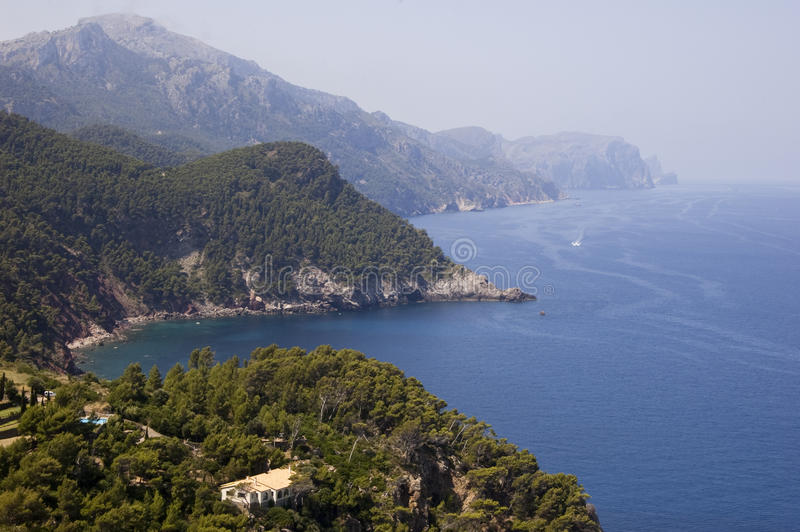 Download Bay view Majorca stock image. Image of destination, journey - 17851313