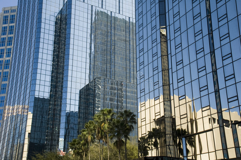 bay w Tampa refleksji fotografia stock