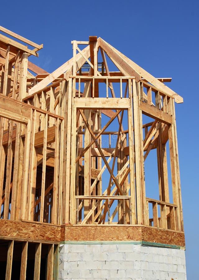 Bay Window Construction royalty free stock image