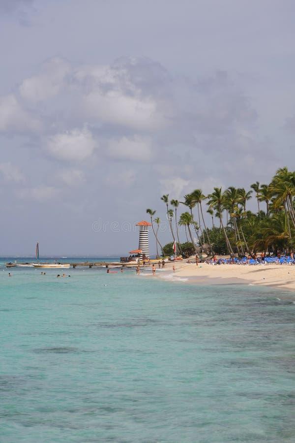 Download Bayahibe plaża obraz stock. Obraz złożonej z scenics - 13341085