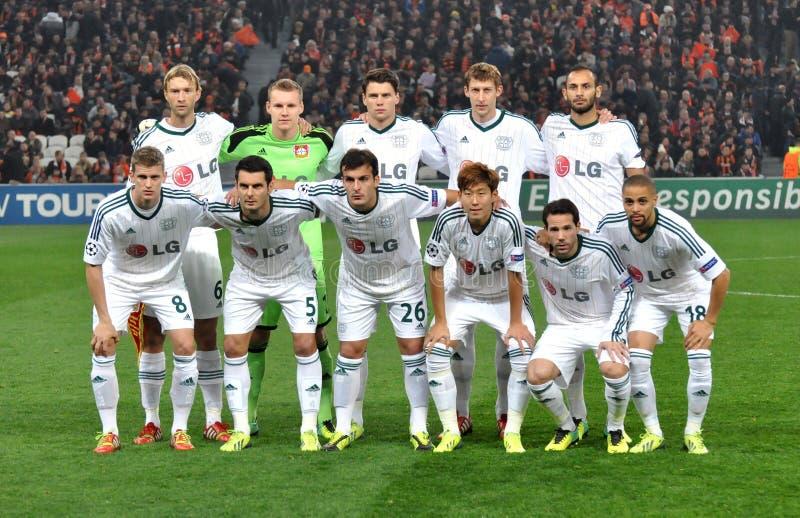 Bayer Leverkusen drużyna futbolowa obraz royalty free