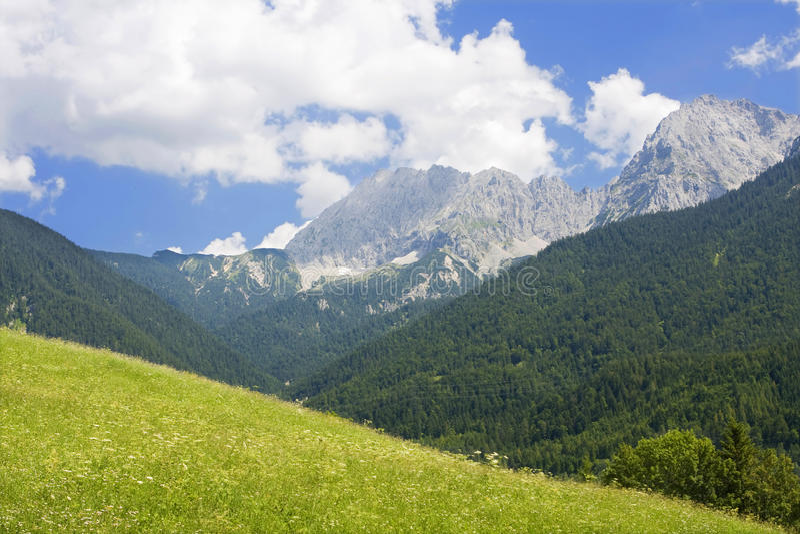 Bayerische Alpen lizenzfreie stockbilder