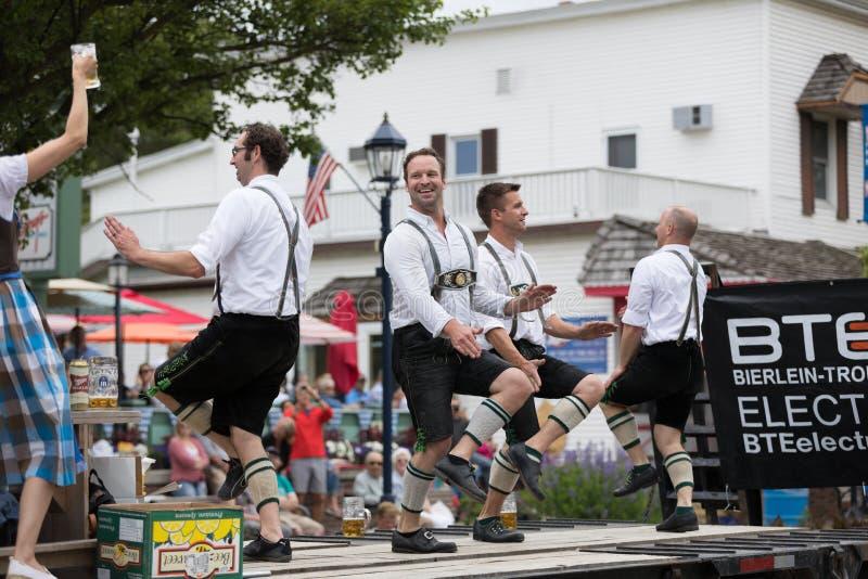 Bayerische Festival-Parade stockfotografie