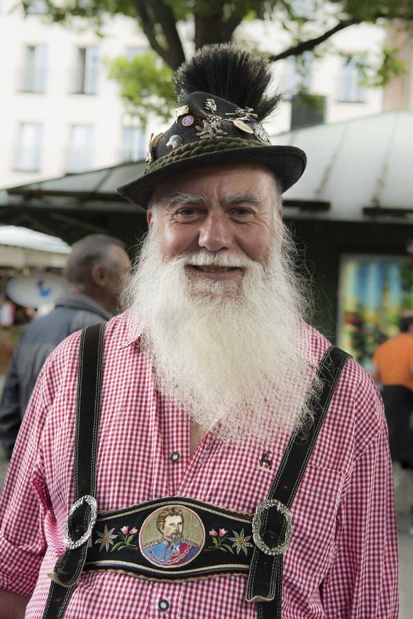 Bayerischer Mann stockfotos