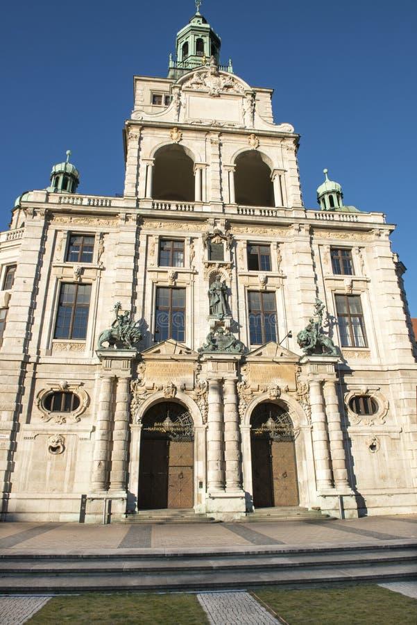 Bayerisches Nationalmuseum, München stockfoto