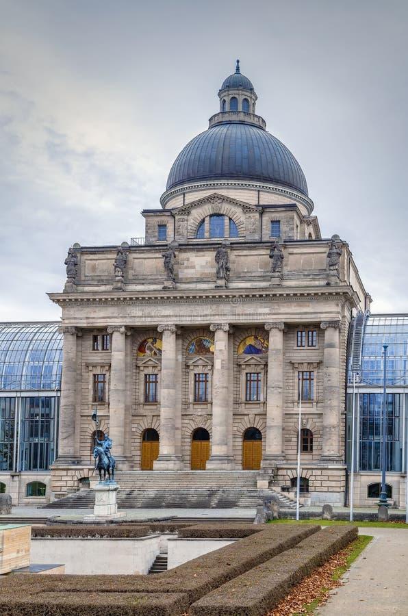 Bayern, Chancellery, München, Tyskland arkivfoton