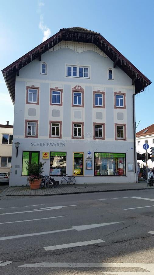 Bayern hus från Tyskland royaltyfri fotografi