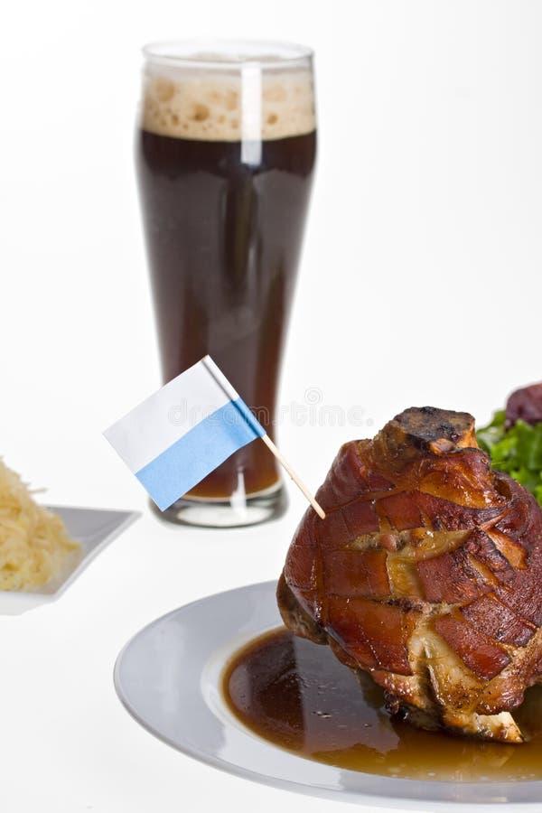 Bayersk knoge av griskött royaltyfri bild