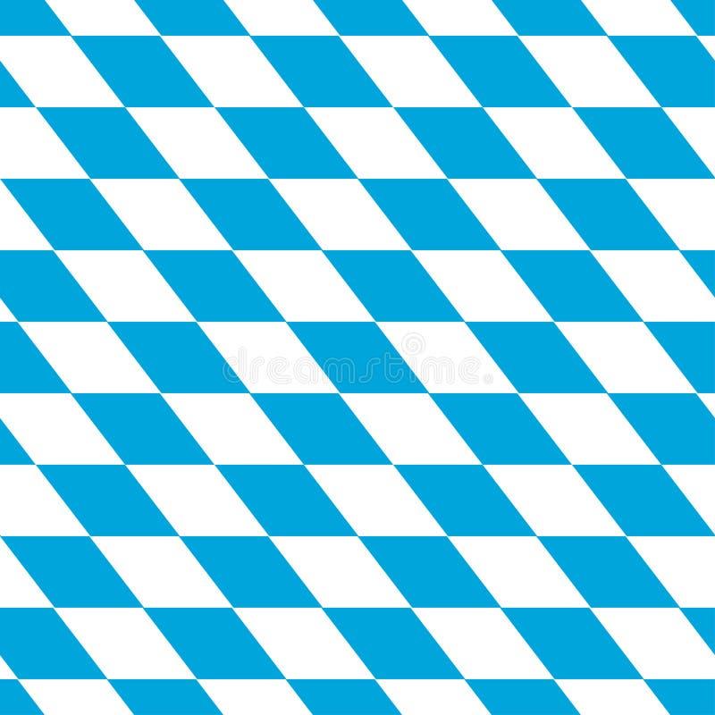 Bayersk vit och blått arkivbild