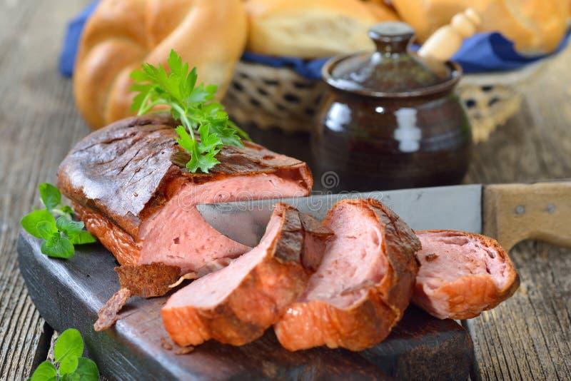 Bayerskt kött släntrar arkivfoto