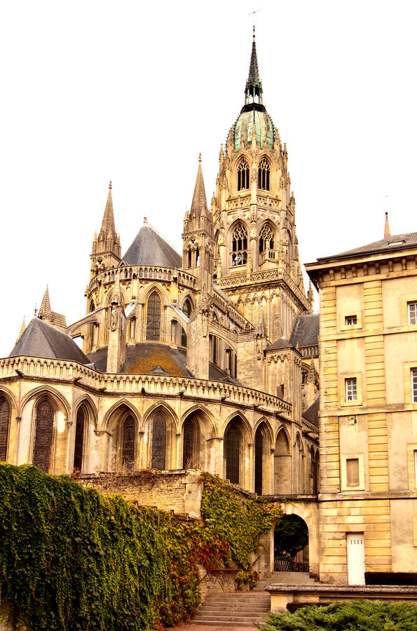 Download Bayeux Cathedral In Normandy Stock Photo - Image: 34790748
