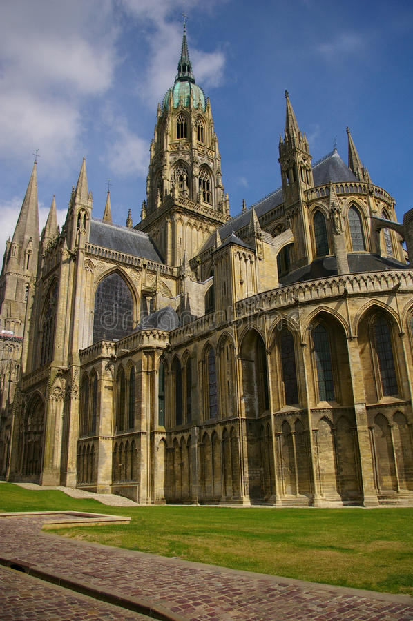 Download Bayeux Cathedral (Notre Dame) Stock Photo - Image: 12609440