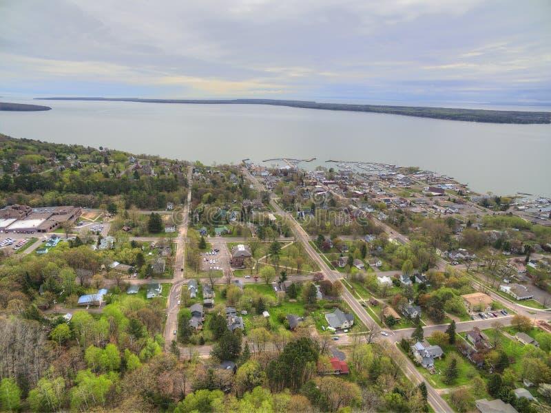 Bayfield Висконсин и Lake Superior стоковые фото