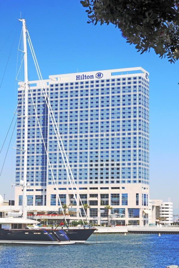 bayfront Diego hilton SAN στοκ εικόνες